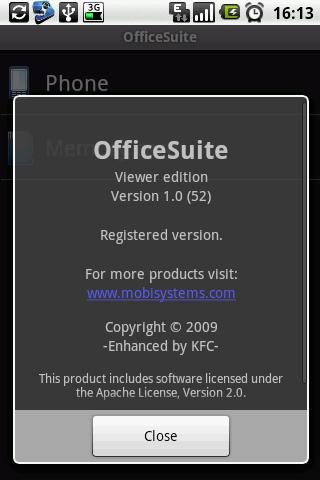 Officesuite + pdf editor screenshot 1